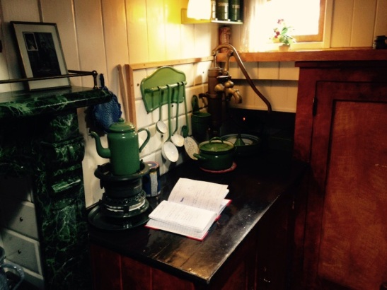 Some of the small kitchen
