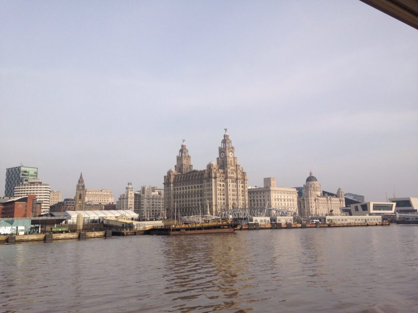 Taking The Mersey Ferry