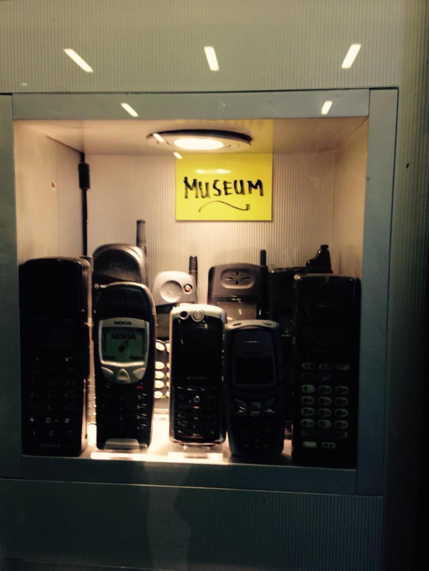 The Brussels phone 'museum'