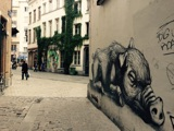 Murals and art aroundBrussels