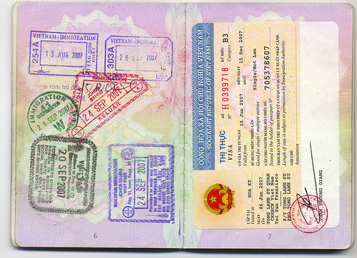 Visas in South East Asia with a UK passport