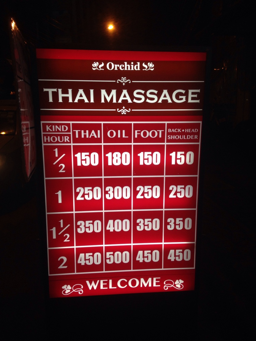 Massages!