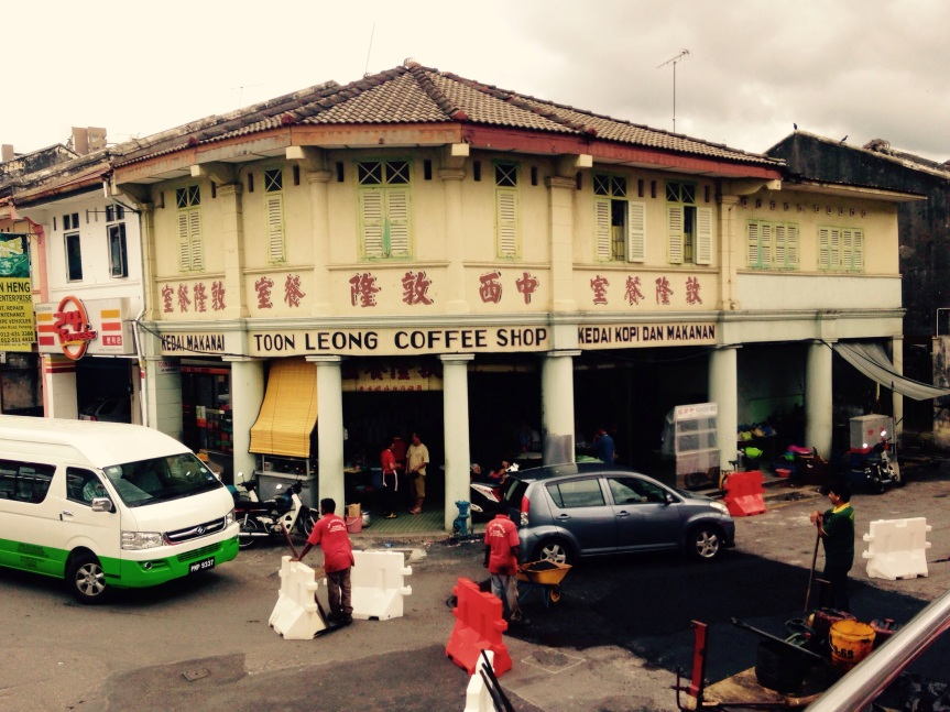 Coffee Shops – Penang's communal dining rooms!