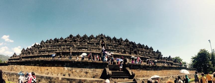 Borobudur – the stunning, the sad and the expensive…