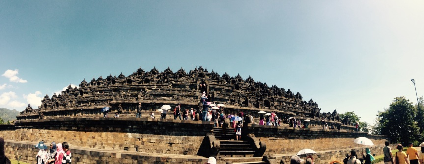 Borobudur – the stunning, the sad and the expensive…