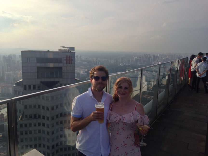 1-Altitude drinking on top of Singapore!