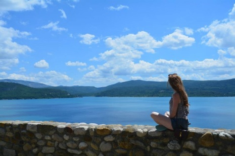 Looking out over St Croix