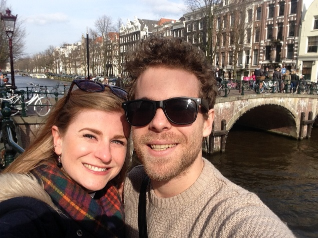 Me and Jake in Amsterdam