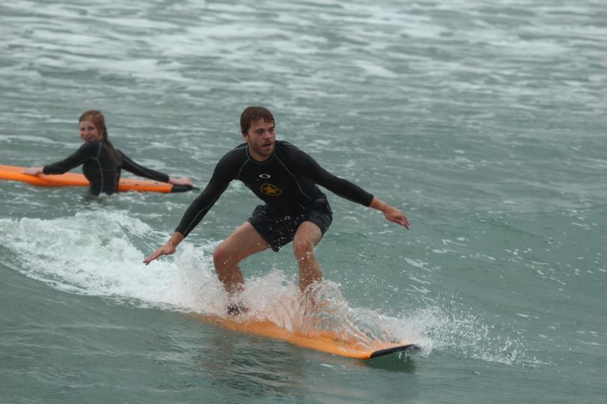 Surfing in Kuta!