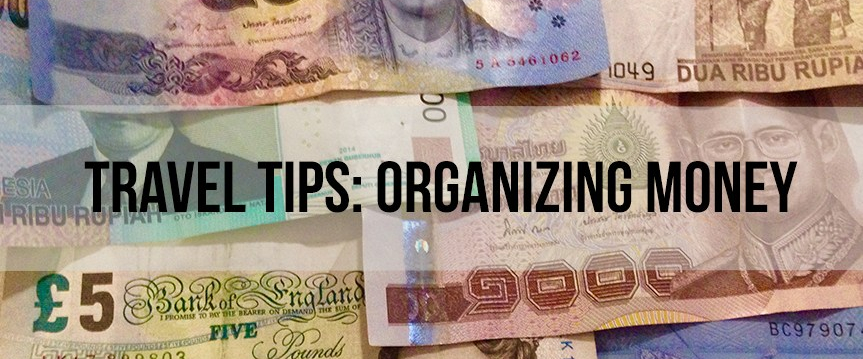 Organizing money!