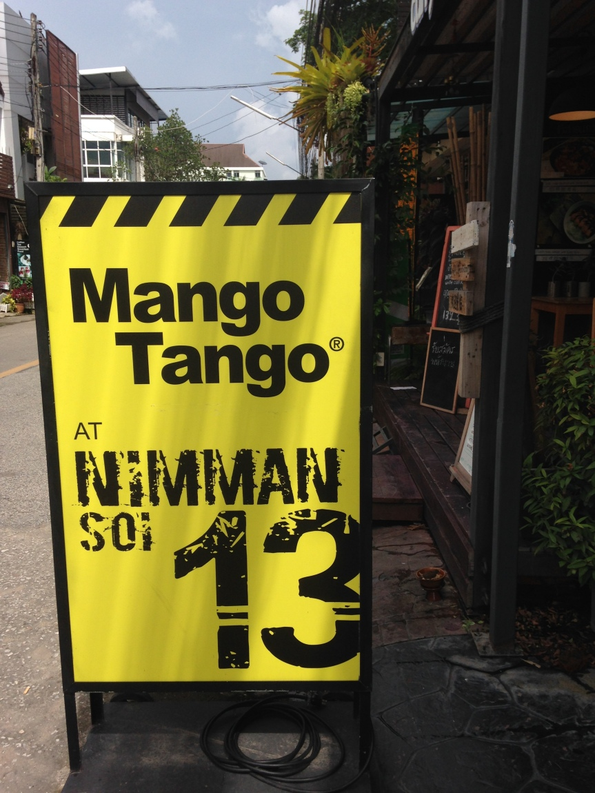 Mango Tango (and our engagement story!)