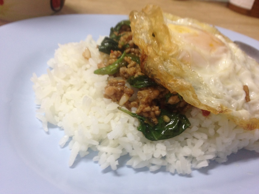 Stir Fry Pork with Hot Basil Leaves – an amazing Thai dish!