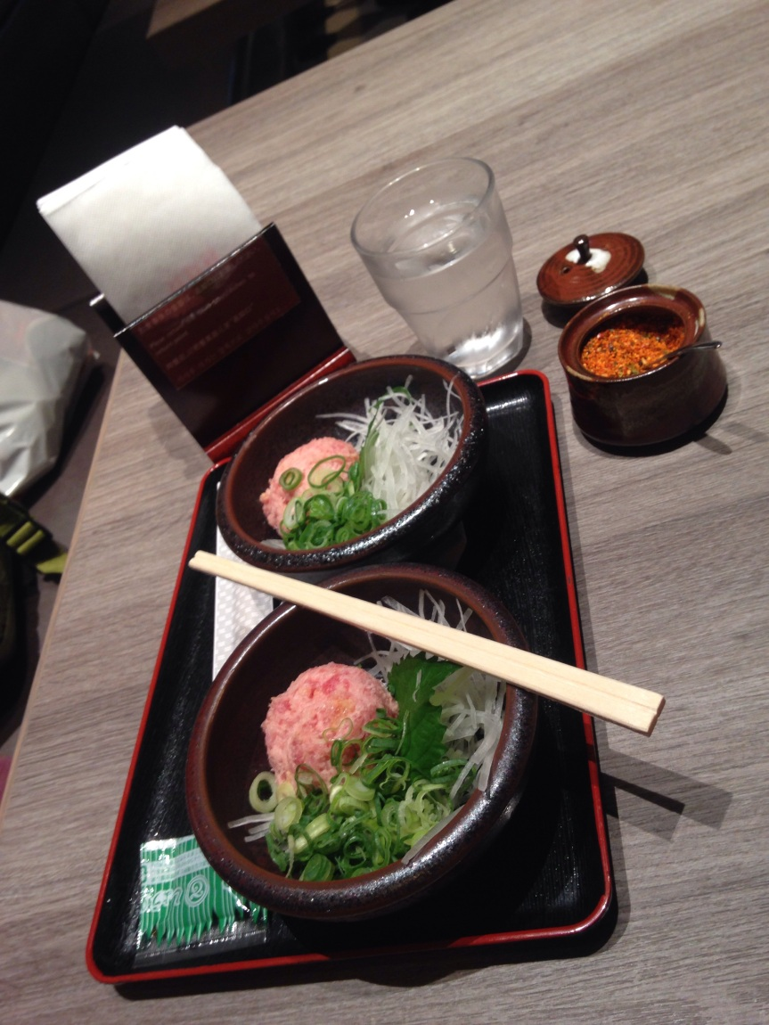 45 minutes in Tokyo, making the most of a quickchange.