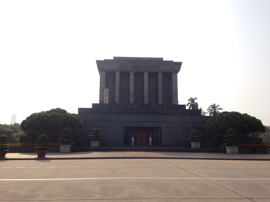 Hanoi – The Ho Chi Minh mausoleum