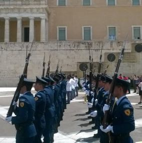 Changing of the guard 6