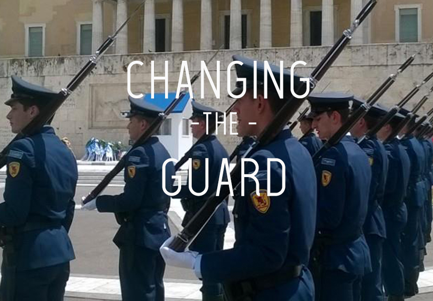 The Changing Of The Guard in Athens